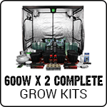 Complete Dual 600 Watt Grow Kits